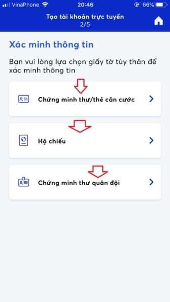 Tạo tài khoản MB Bank online