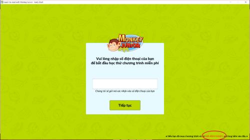 cài đặt phần mềm Monkey Junior trên Máy tính 6
