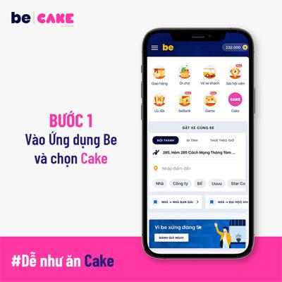 Bước 1 Tải về ứng dụng Cake
