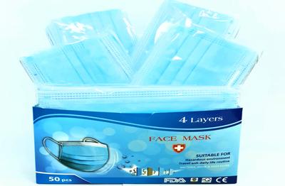 Khẩu trang y tế 4 lớp kháng khuẩn Face Mask SG1